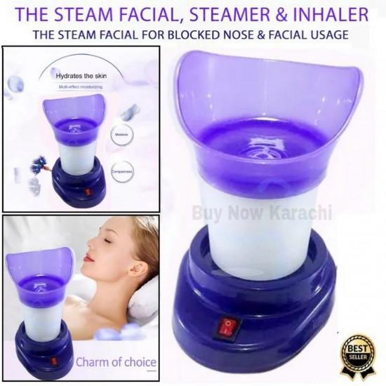 Shinon Original – Steamer and Inhaler for Block Nose   Facial Usage 2 in 1 Massage Tool The Steam Facial