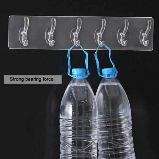 Transparent Wall Hanging Hooks