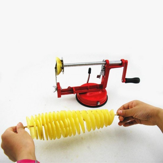 King Crockery Spiral Potato Slicer   Potato Cutter