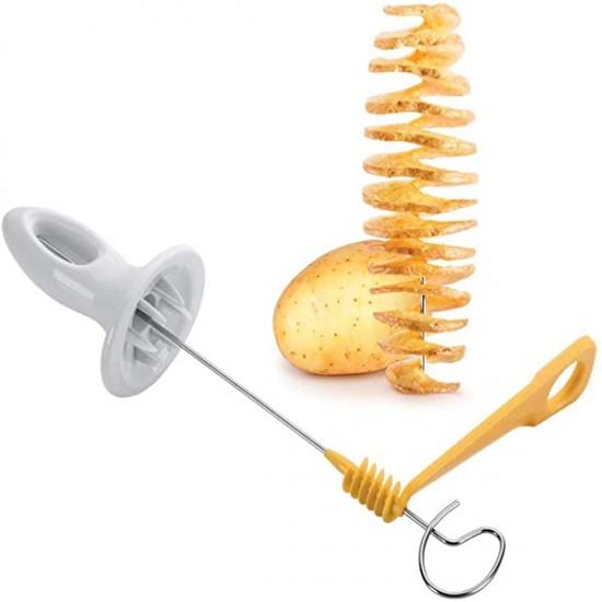 Tornado Potato Spiral Manuel Cutter Slicer