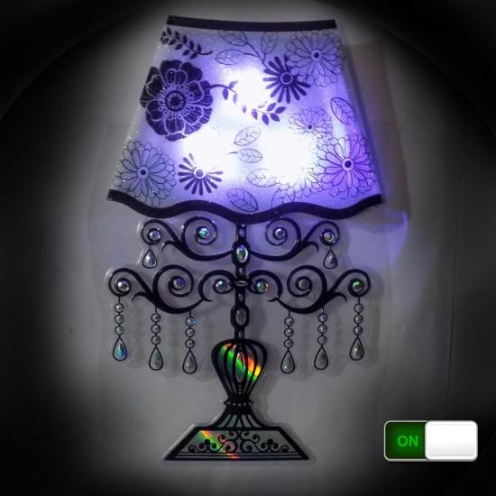 LED Lamp Sticker 3D Wall Light