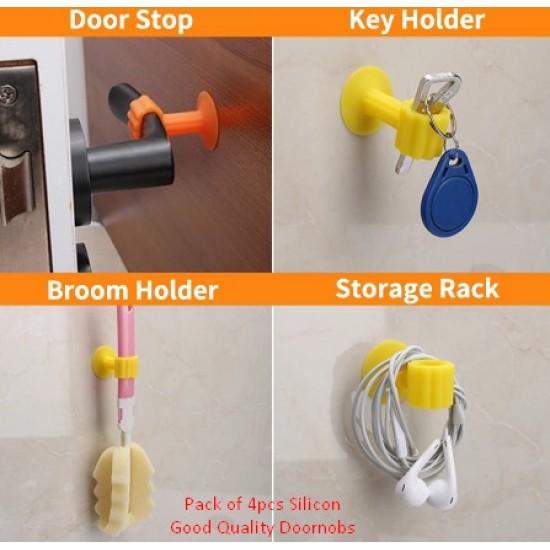 Pack of 4 -Door Stopper
