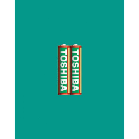 Pack of 2 Super Heavy Duty (green) Cell AAA Batteries