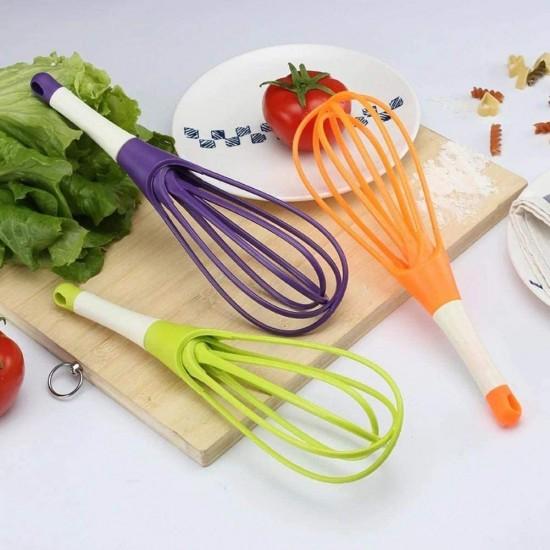 2-In-1 Rotatable EggYogurt Beater Mixer  Salad Mixer