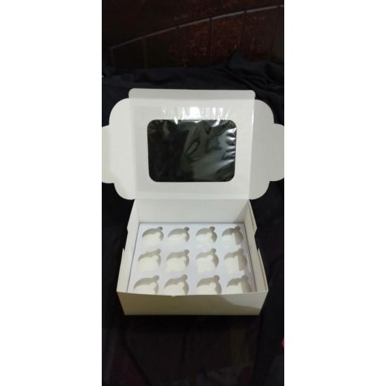 12 Cavity Cupcake Box