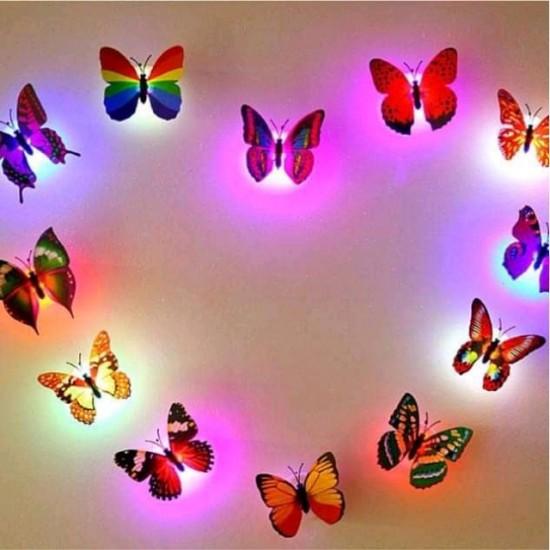 10pcs Led Butterfly