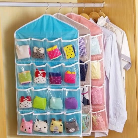 16 Pocket Socks Organizer