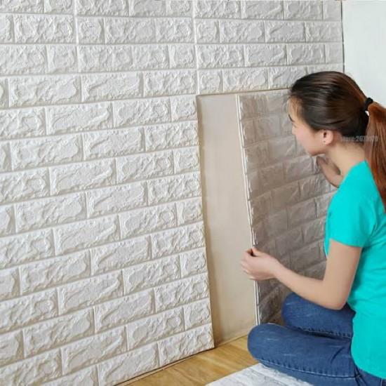3D Wall Sheet Brick 70x77cm
