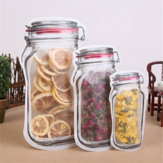 3pcs Zip Jar