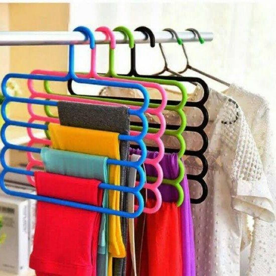 5 Layer Hanger [Pack of 4]