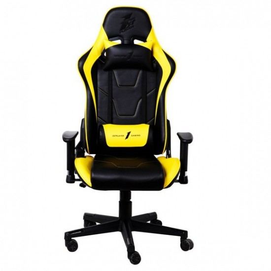 1st Player FK2 Gaming Chair (Black   Yellow)