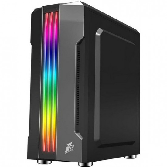 1st player R3-A (Black) Mid-Tower Gaming Case