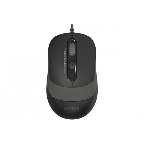 A4Tech FM10 Fstyler 1600 DPI Optical Mouse – Black
