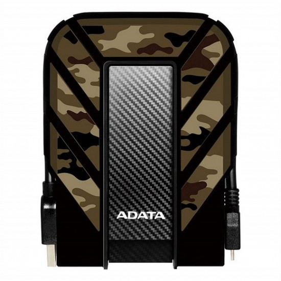ADATA HD710M Pro 2TB External Hard Drive, Camouflage