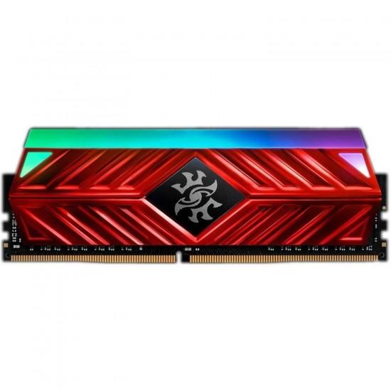 XPG Spectrix D41 RGB 8GB 3000MHz PC4-24000 DDR4 Desktop U-DIMM Memory Black AX4U300038G16-ST41