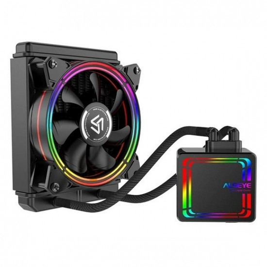 ALSEYE H120 Water Cooler RGB Water Cooling Fan Integrated CPU Cooler