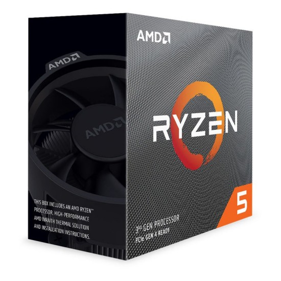 AMD Ryzen 5 3600 Desktop Processor With Wraith Stealth Cooler