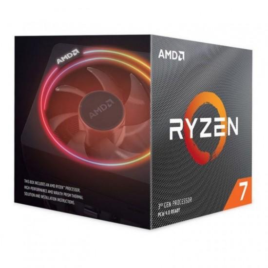 AMD Ryzen 7 3800X Eight-Core AM4 Unlocked Desktop Processor With Wraith Prism LED Cooler