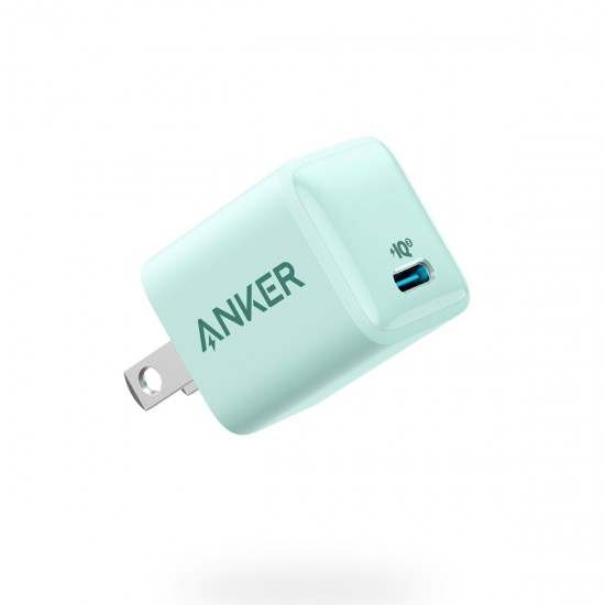 Anker PowerPort III Nano 20W Ultra-Compact Phone   Tablet Charger – White