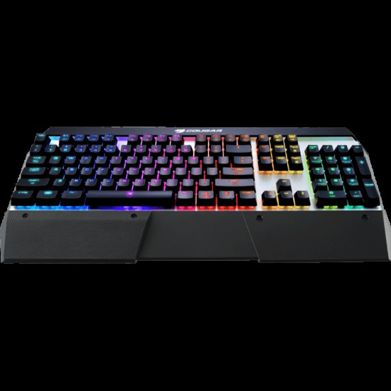 Cougar Attack X3 RGB Cherry MX RGB Backlit Mechanical Gaming Keyboard (Red Switch) Silver Version