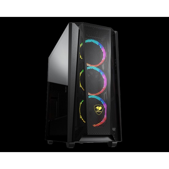 Cougar MX660 Mesh RGB Advanced Mid-Tower Case with Powerful Airflow
