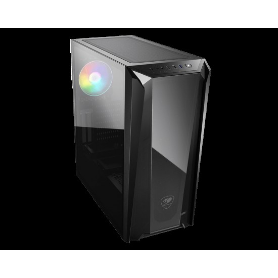 Cougar MX660-T Advanced Mid-Tower Case with COUGARs Iconic DNA