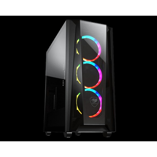 Cougar MX660-T RGB Advanced Mid-Tower Case with COUGARs Iconic DNA