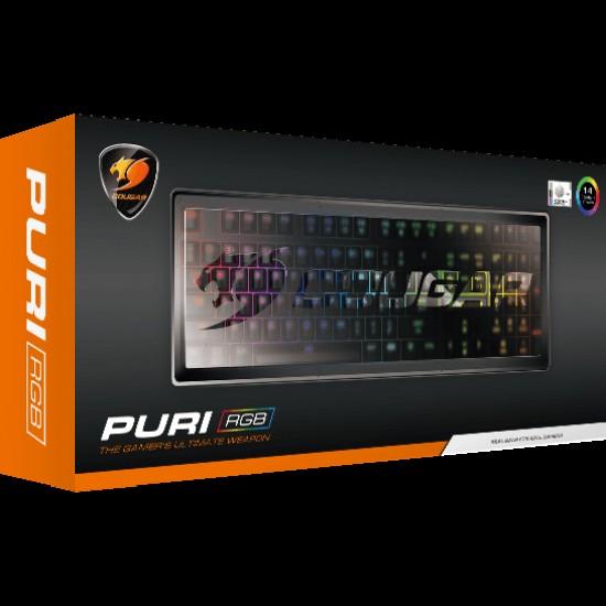 Cougar PURI RGB Mechanical Gaming Keyboard (Blue Switch)