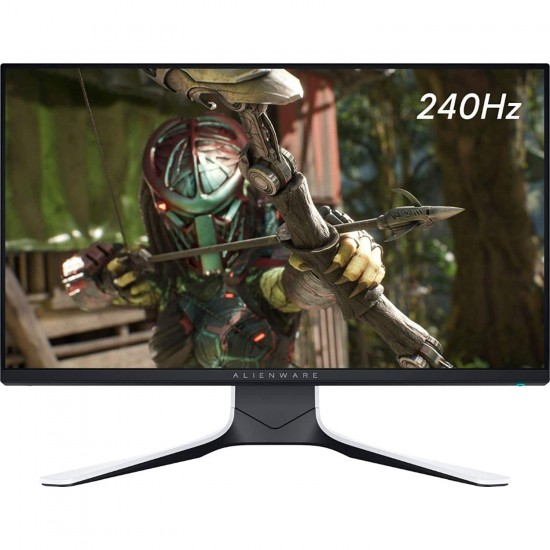 Dell Alienware AW2521HFL 25-inch 240hz Gaming Monitor (White)