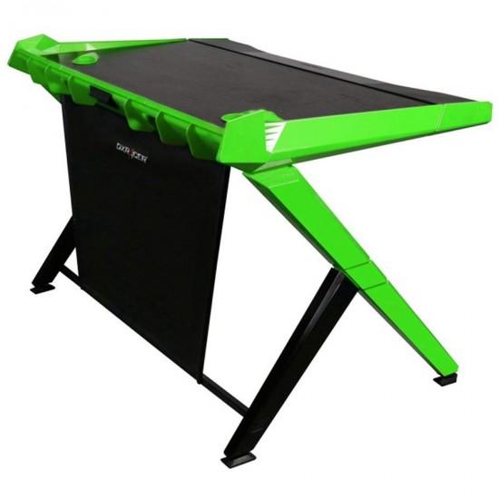 DXRacer Gaming Computer Desk GD-1000-NE-1 (Black   Green) Desktop Office Table (Free Next-Day Delivery for Karachi Only)