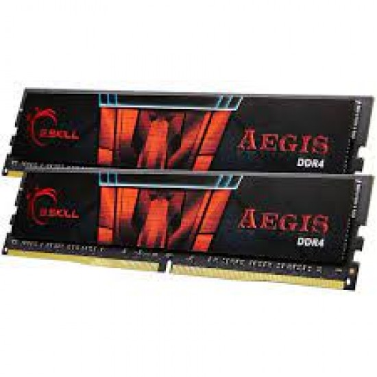 G.SKILL Aegis 16GB (16GBx1) DDR4 3000 Mhz Desktop Memory (Single Channel Kit)