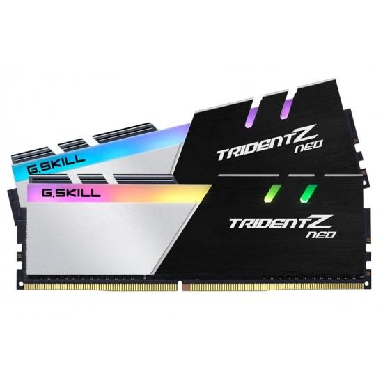 G.SKILL TridentZ Neo 32GB (2x16GB) DDR4-3600MHz Desktop Memory Dual Channel Kit