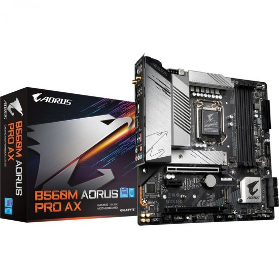 Gigabyte B560M AORUS PRO AX Intel LGA1200 Motherboard