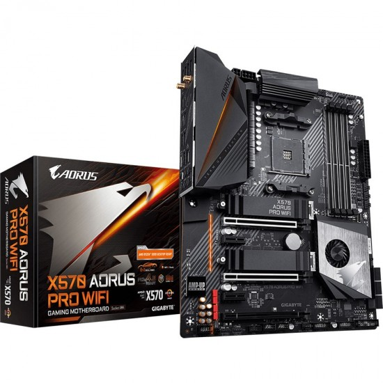 Gigabyte X570 Aorus Pro WIFI (Rev 1.1) AMD Motherboard