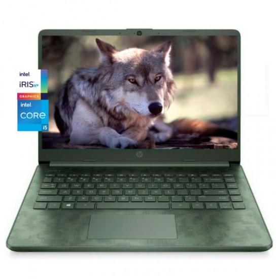 HP 14-DQ2088wm Laptop 11th Gen Intel Core i5, 8GB, 256GB SSD, Intel Graphics, 14″ HD, Windows 10 | Aspen Green