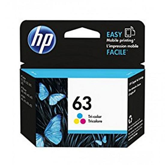 HP 63Tri Color Original Ink Cartridge