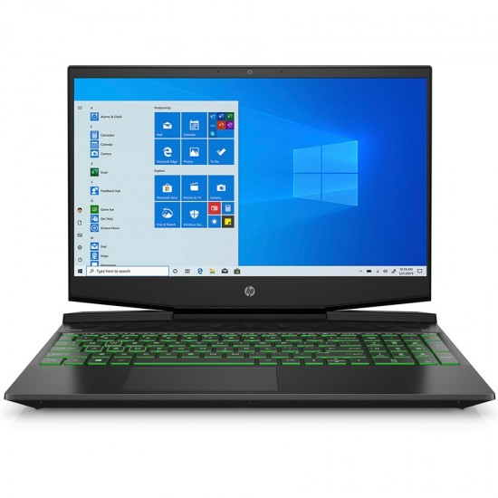 HP Pavilion 15-DK1056WM Gaming Laptop 10th Gen Core i5, 8GB, 256GB SSD, GTX 1650 4GB, Windows 10