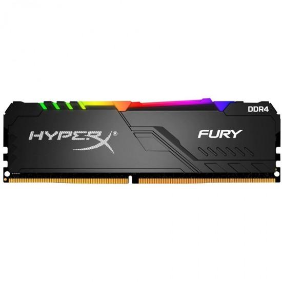 HyperX Fury 16GB 3200MHz DDR4 RGB XMP Desktop Memory – HX432C16FB3A16