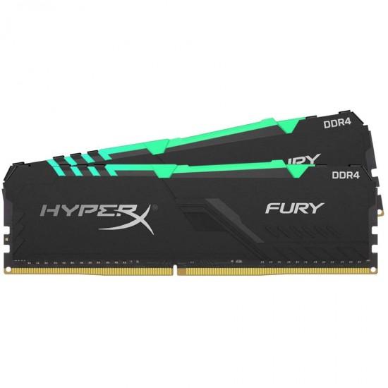 HyperX Fury RGB 16GB 3600MHz DDR4 Desktop Memory HX436C17FB3AK216 RAM DIMM