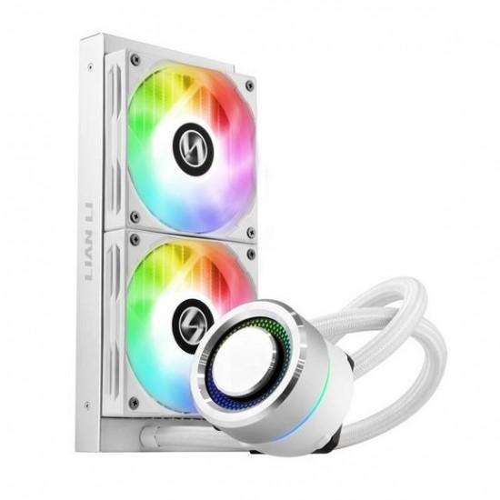 Lian Li GALAHAD 240 AIO CPU Cooler ARGB White