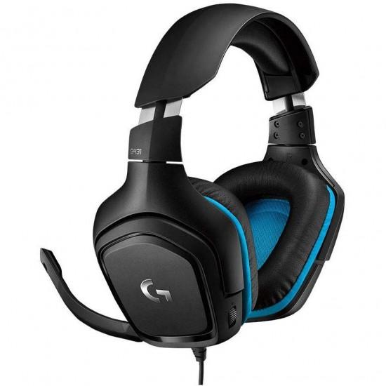 Logitech Gaming Headset G431 Virtual 7.1 Surround Sound