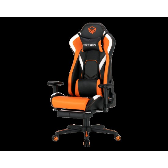 Meetion CHR22 Leather Reclining Gaming E-Sport Chair with Footrest