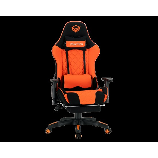 Meetion CHR25 2D Armrest Massage Gaming E-Sport Chair with Footrest