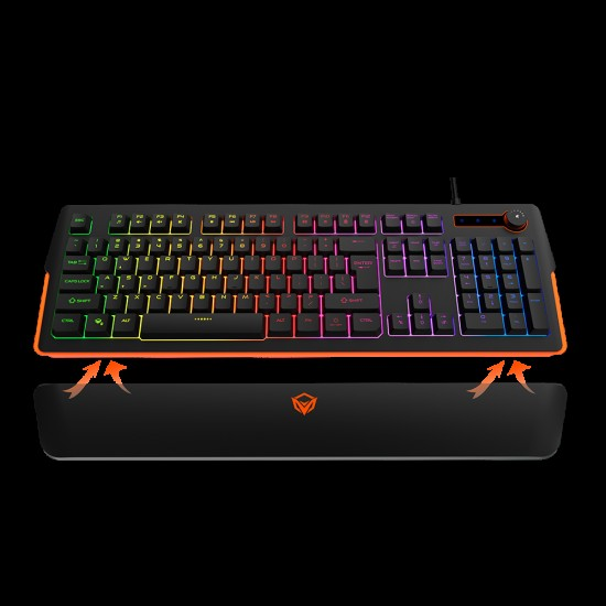 Meetion K9520 RGB Magnetic Wrist Rest Gaming Keyboard