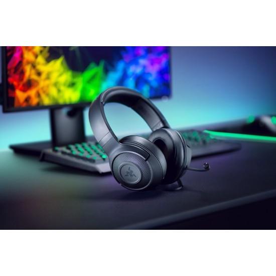 Razer Kraken X Headset – Multi-Platform 7.1 Wired Gaming Headset