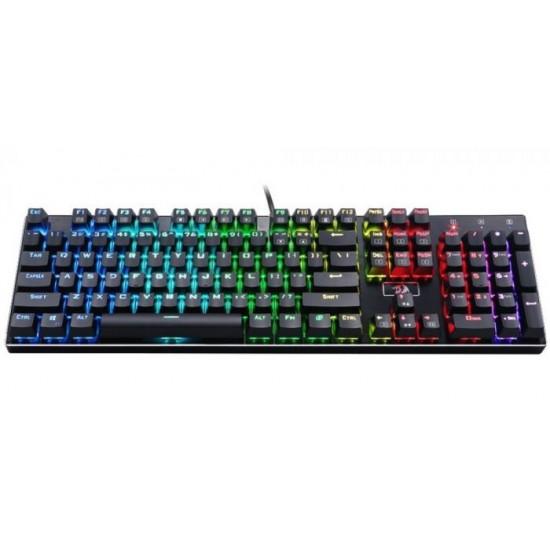 Redragon Devarajas K556 RGB Mechanical Gaming Keyboard (Dust-Proof Brown Switches)