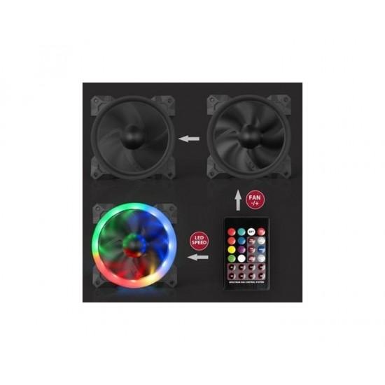 Redragon GC-F008 120mm RGB Cooling Fan
