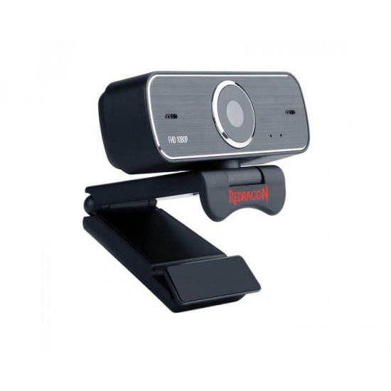 Redragon GW800 1080P Webcam with Built-in Dual Microphone 360-Degree Rotation  2.0 USB Skype Computer Web Camera
