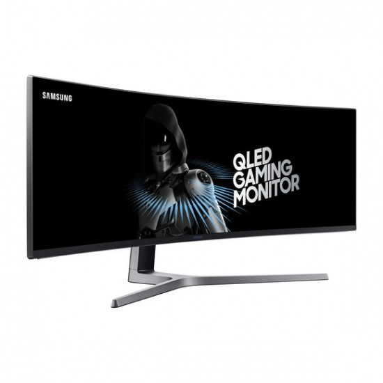 Samsung 49CHG90 49Inch Ultrawide WFHD 144hz QLED Gaming Monitor for the Ultimate Gaming Experience. (Open Box)