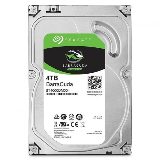 Seagate 4TB BarraCuda SATA 6Gbs 5400 RPM 256MB Cache 3.5 Inch Desktop Hard Drive